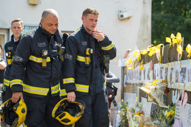 London police say 255 survived Grenfell blaze