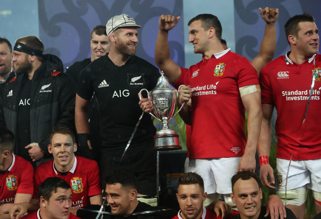 New Zealand v British and Irish Lions - Third Test - Eden Park