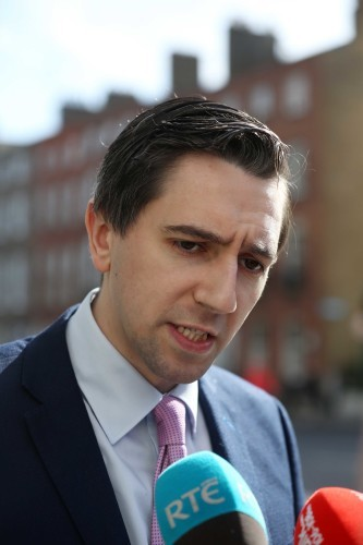 File Photo MINISTER FOR HEALTH Simon Harris has said he wants to see a referendum on the Eighth Amendment take place in the summer of 2018