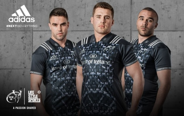 Lead image - #NextIsEverything - Munster Rugby Alternate Jersey (1)