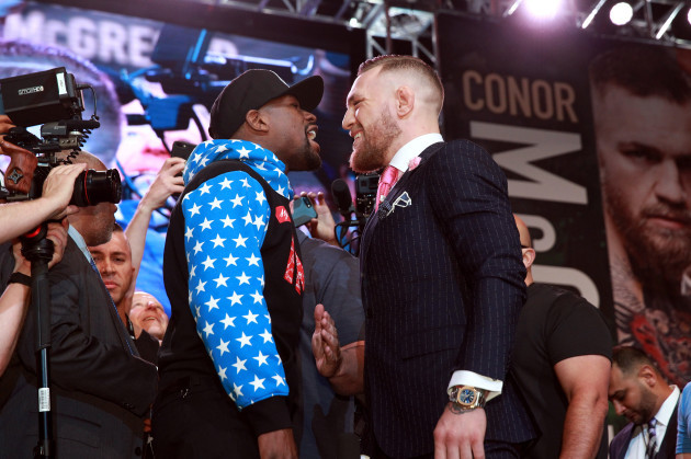 Mayweather-McGregor Los Angeles World Press Tour