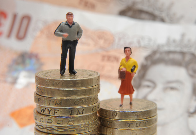 Retirement gender pay gap