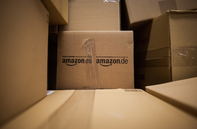 Amazon logistics centre in Pforzheim