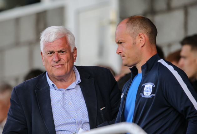 Peter Ridsdale and Alex Neil