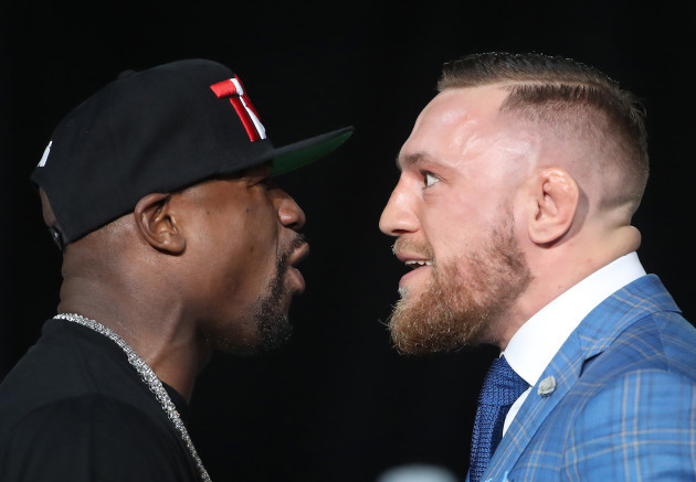 Boxing: Mayweather vs McGregor-World Tour
