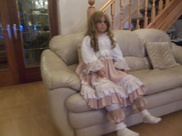 Always wanted a life-size doll? Here's a lovely one for sale…