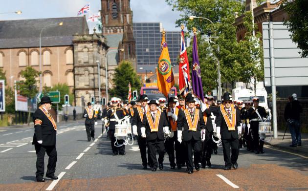 Britain Northern Ireland Orange Parades