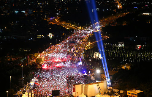 Turkey Coup Anniversary