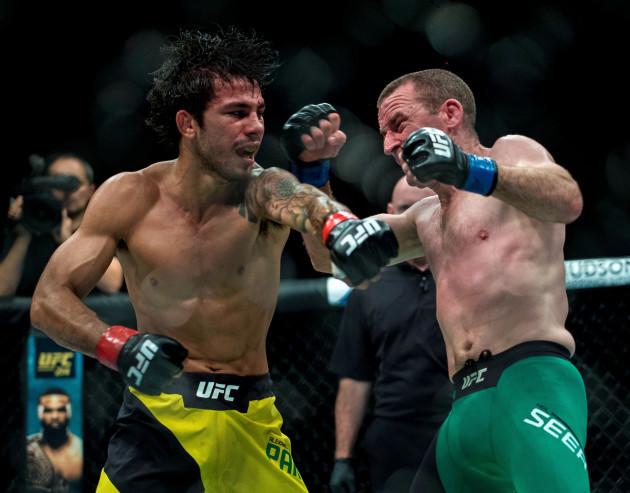 UFC Fight Night - Gunnar Nelson v Santiago Ponzinibbio - SSE Hydro