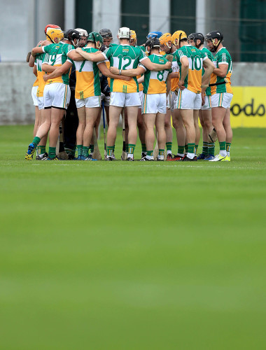 Offaly team huddle