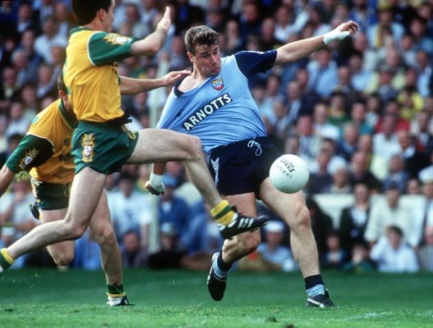 Charlie Redmond is tackled 1992