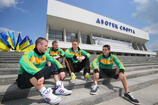 Paddy Barnes, John Joe Nevin, Jason Quigley and Michael Conlan