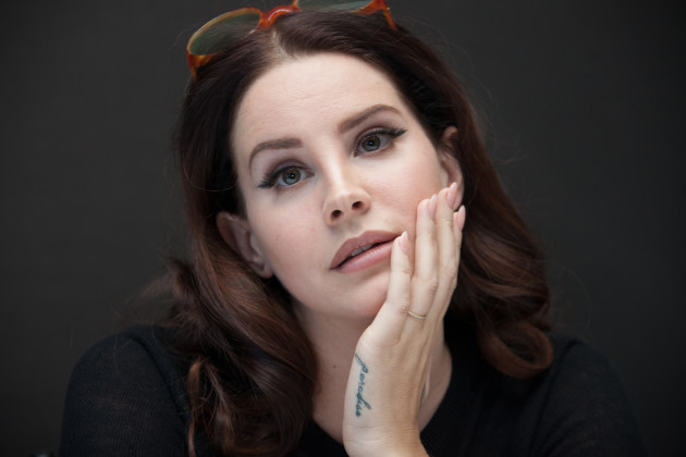 Lana Del Rey Promotes Big Eyes - New York