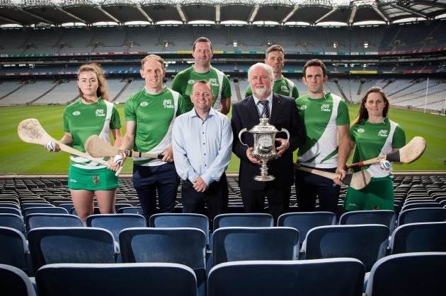 Faye McCarthy, Kevin Moran, Davy Fitzgerald, Brendan Cummins, Anthony Nash, James McInerney, Martin Donnelly and Aoife Murray