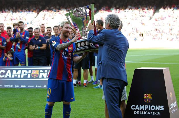 FC Barcelona v Real Betis Balompie - La Liga - Camp Nou