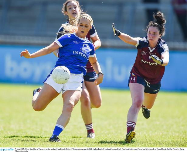 Cavan v Westmeath - Lidl Ladies Football National League Div 2 Final