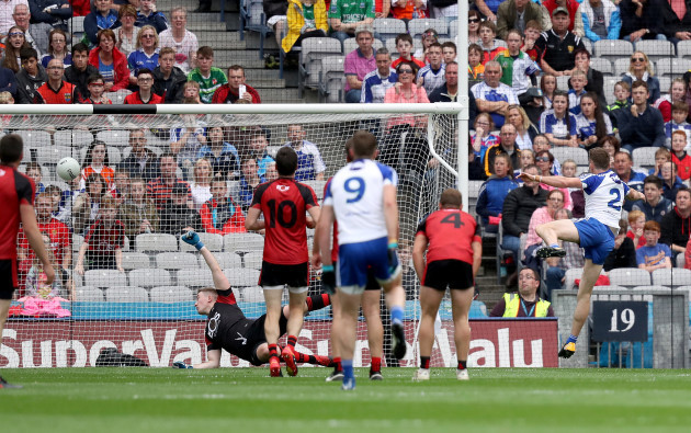 Finatan Kelly scores his sides opening goal