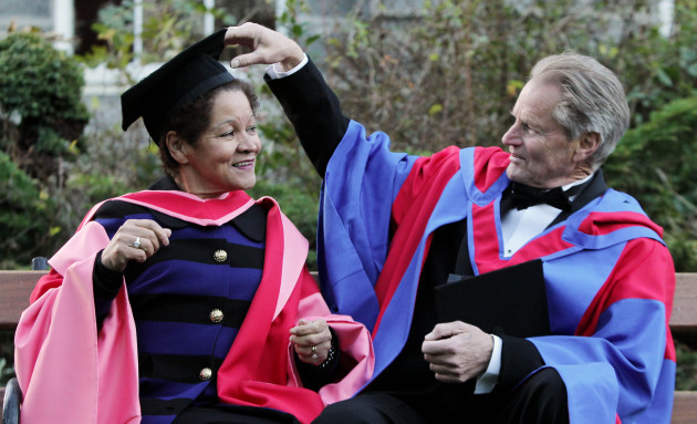 Honorary degrees at Trinity College