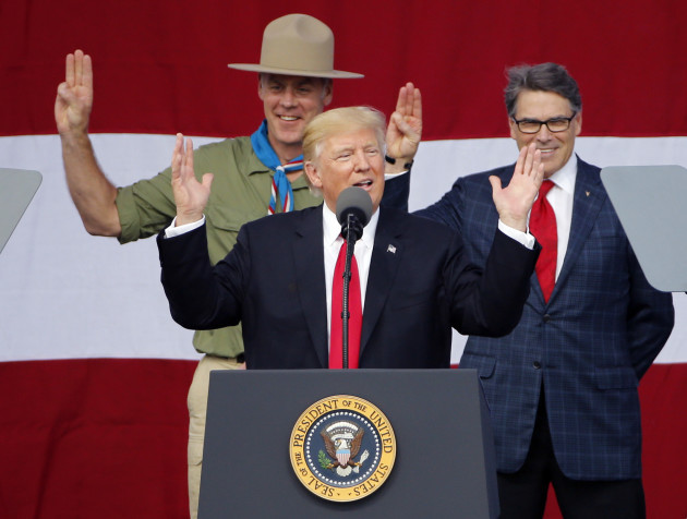Trump Boy Scouts