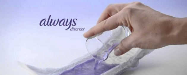Always-maxi-pad-blue-liquid-ads