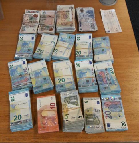 Cash Seized 3 Aug