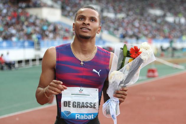 Worlds De Grasse Out Athletics