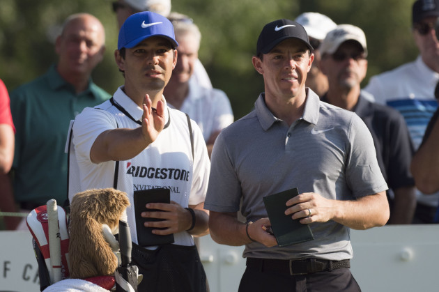 PGA: WGC - Bridgestone Invitational - First Round