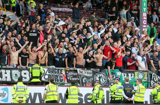 burnley 39 s pre season friendly with hannover abandoned due. Black Bedroom Furniture Sets. Home Design Ideas