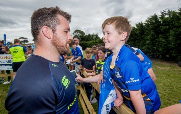 Jack Collins with Cian Healy