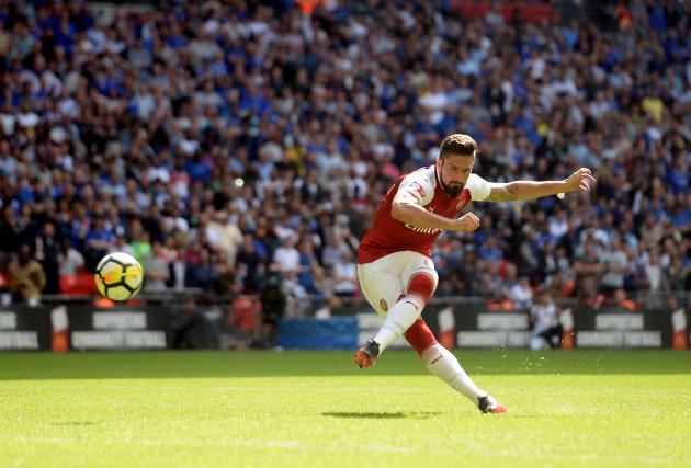 Arsenal v Chelsea - Community Shield - Wembley