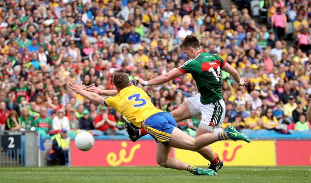 Cillian O'Connor scores their fourth goal