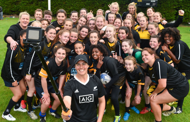 AIG Black Ferns Training Session