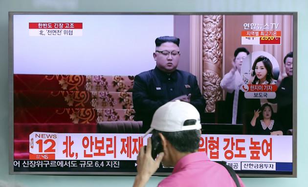 South Korea US North Korea Nuclear