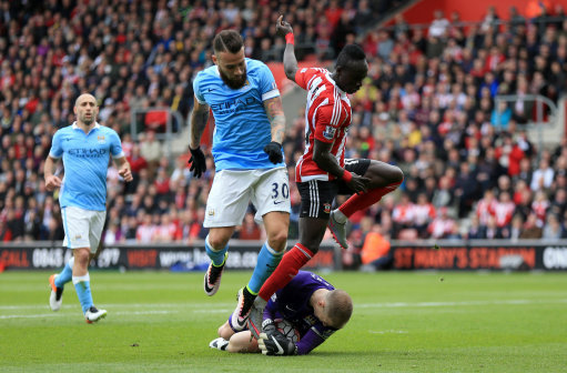 Southampton v Manchester City - Barclays Premier League - St Marys