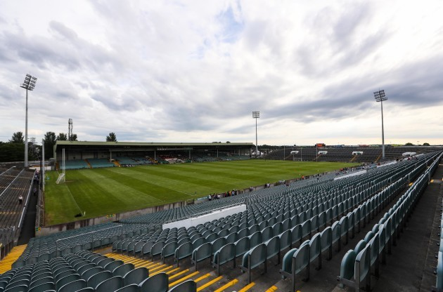 A view of the Gaelic Grounds before kick-off