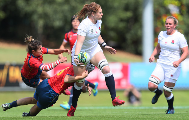 England v Spain - 2017 Women's Rugby World Cup - Pool B - UCD Bowl