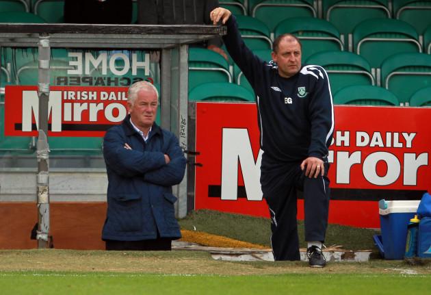 Eddie Gormley an Pat Devlin
