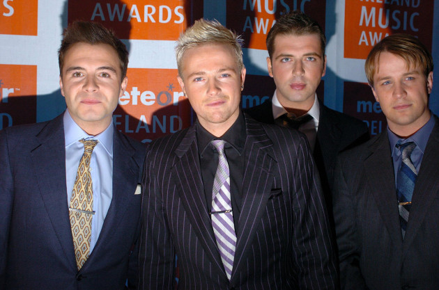 2005 Meteor Ireland Music Awards - The Point Depot