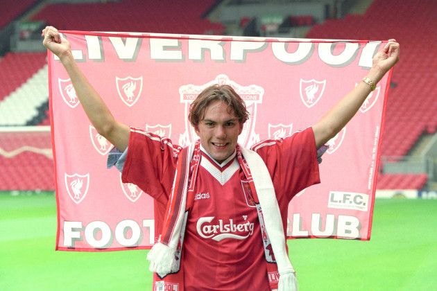 Jason McAteer Signs for Liverpool