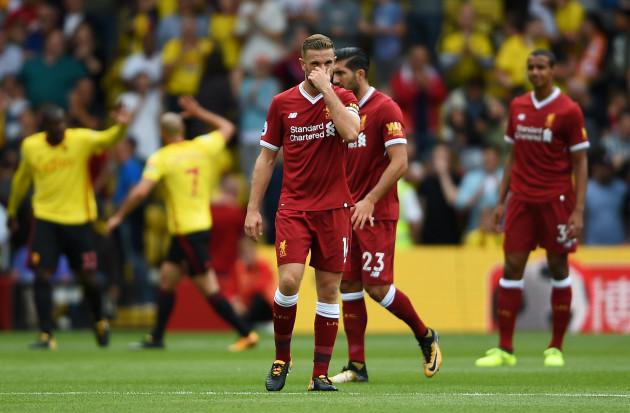 Watford v Liverpool - Premier League - Vicarage Road