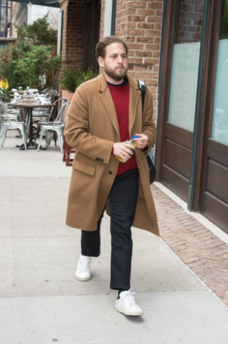 NY: Jonah Hill sighting