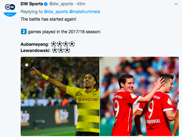 Aubameyang hat-trick as Dortmund, Bayern advance in German Cup