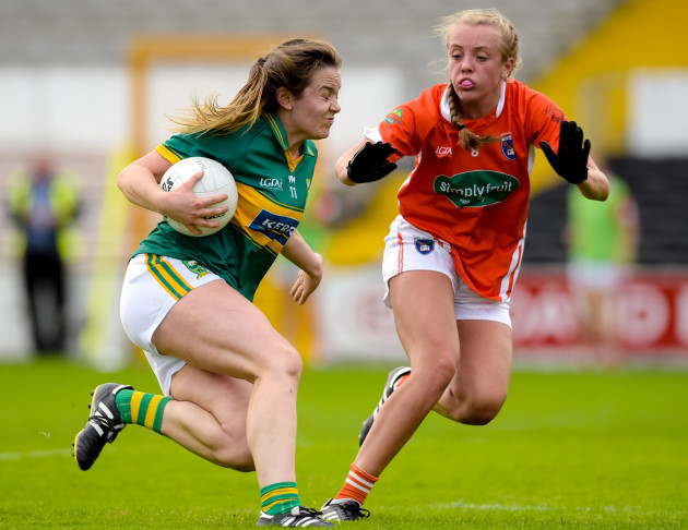 Anna Galvin with Niamh Coleman
