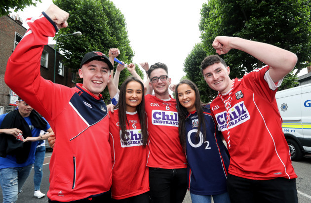 Andrew McCarthy, Aoife Mulligan, Darragh Kelly, Aine Mulligan and Colm Kiely