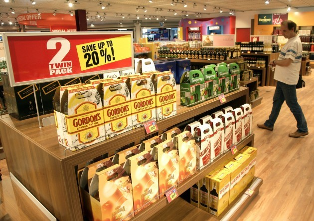 Duty Free Shop at Tegel Airport