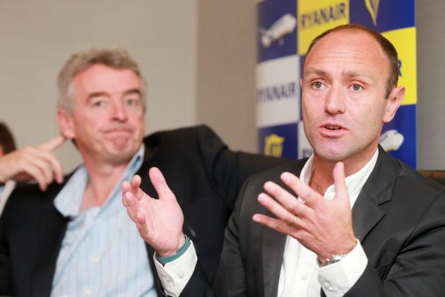 21/8/2014. Ryanair Press Conferences