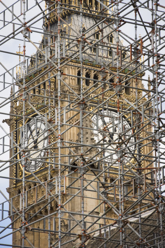 Houses of Parliament Scaffolding  - London