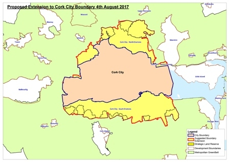 Map 1 - Proposed Extension to City Boundary - 04 August 2017 web