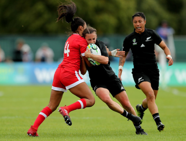 Black Ferns crush Canada, into RWC semis