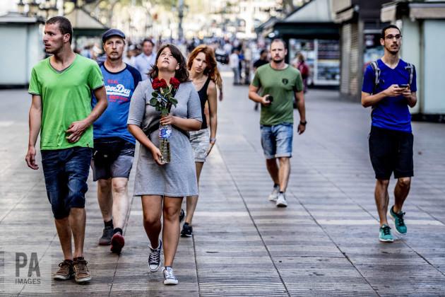 Terror Attack Aftermath - Barcelona
